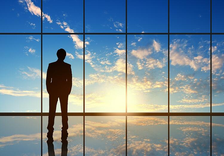Silhouette of businessman against panoramic office window.jpeg