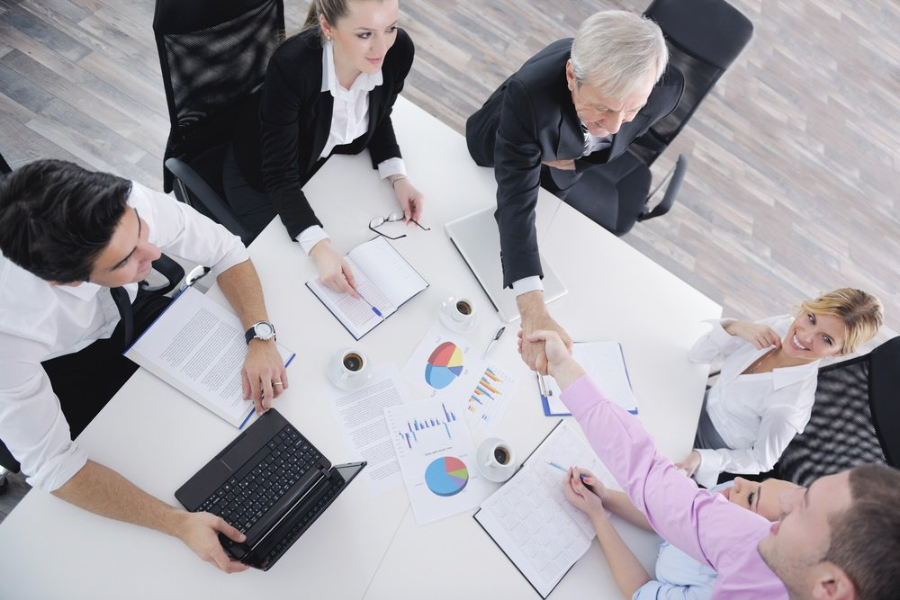 business people  team  at a meeting in a light and modern office environment.-1-6